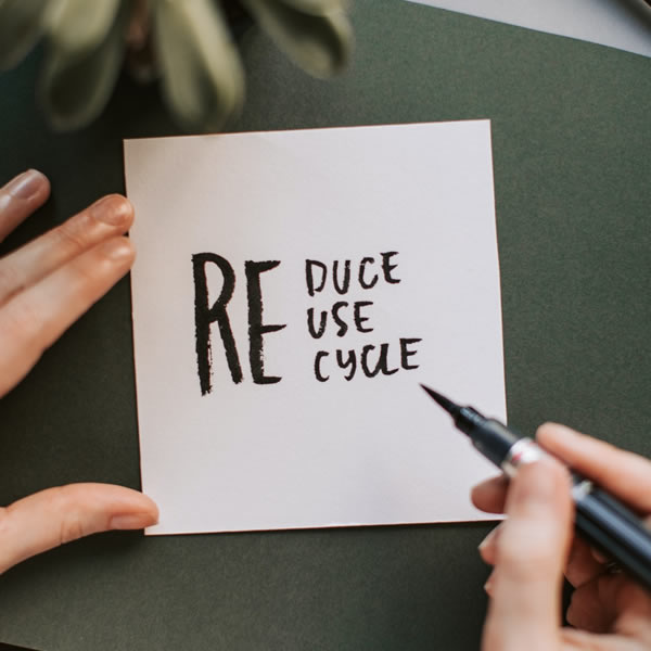 How to reuse tissue paper